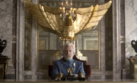 Mockingjay Part 1 Donald Sutherland