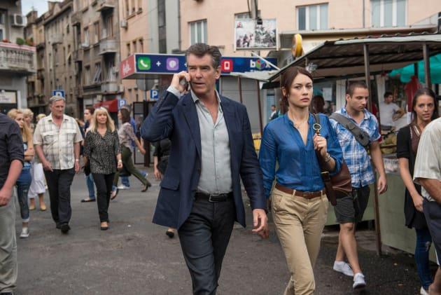 The November Man Pierce Brosnan Olga Kurylenko