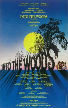 Into the Woods Play Poster