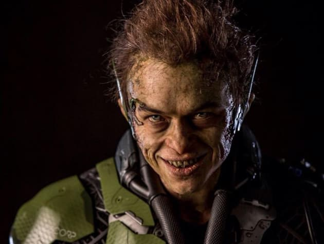 Green Goblin Gets Scary