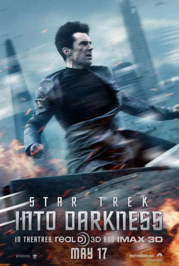 Star Trek Into Darkness John Harrison Poster