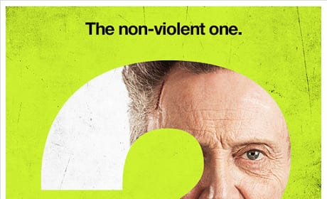 Christopher Walken Seven Psychopaths Character Poster