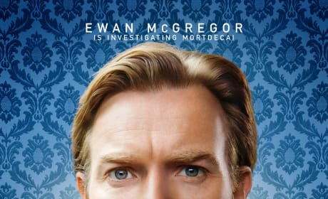 Mortdecai Ewan McGregor Character Poster