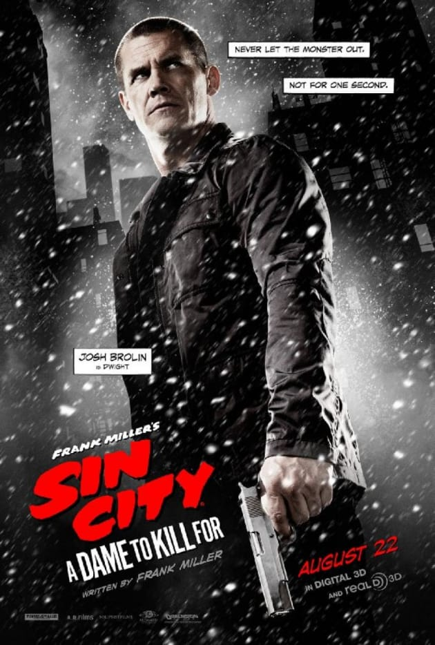 Sin City A Dame to Kill For Josh Brolin Character Poster