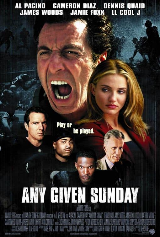Any Given Sunday Poster