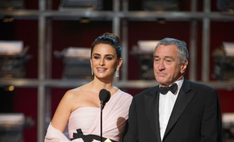 Robert De Niro Penelope Cruz Oscars