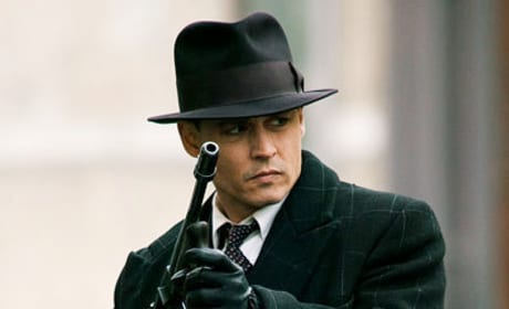 Johnny Depp Loves John Dillinger
