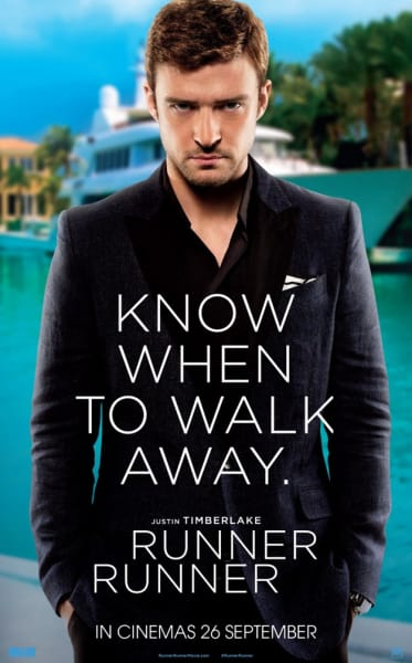 Justin Timberlake Runner Runner Poster