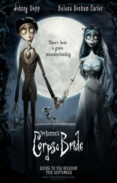 Poster for Corpse Bride