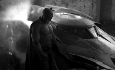Batman vs. Superman Batsuit & Batmobile