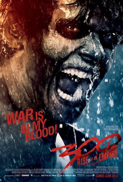 300 Rise of An Empire Jack O'Connell Poster