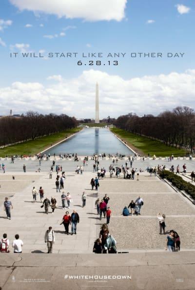 White House Down Teaser Poster