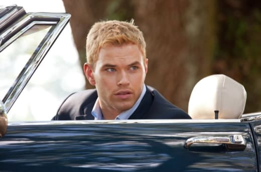 Kellan Lutz plays Charlie