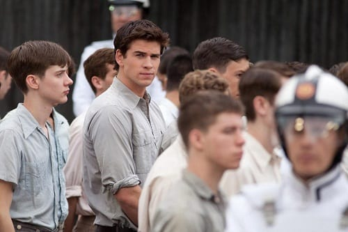Liam Hemsworth in The Hunger Games