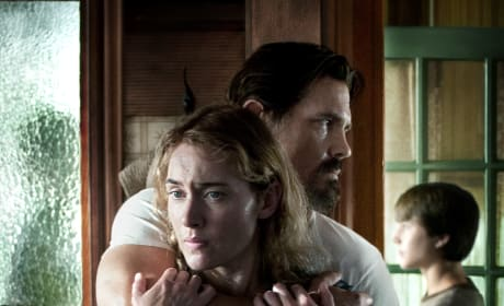 Labor Day Poster: Josh Brolin Embraces Kate Winslet