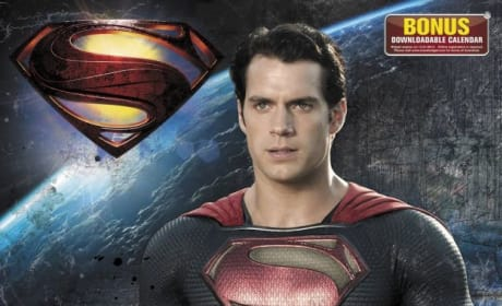 Man of Steel Calendar Shows New Images