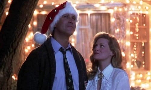 Chevy Chase and Beverly D'Angelo Christmas Vacation