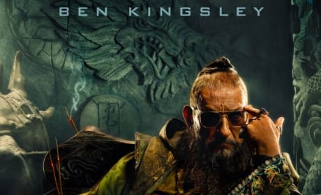 Iron Man 3 Character Poster: Ben Kingsley is The Mandarin
