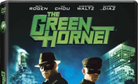 The Green Hornet DVD Cover