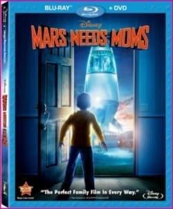 Mars Needs Moms Blu-Ray