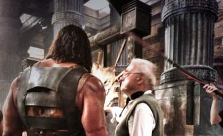Hercules: Dwayne Johnson Shows Off Costume