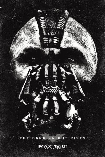 The Dark Knight Rises Midnight IMAX Poster