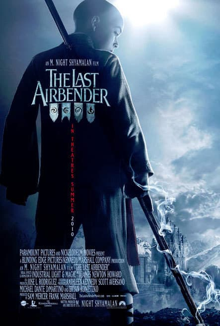 The Last Airbender ice banner