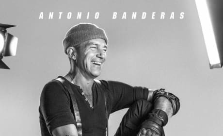 The Expendables 3 Antonio Banderas Poster
