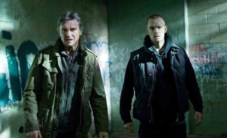 Run All Night Joel Kinnaman Liam Neeson