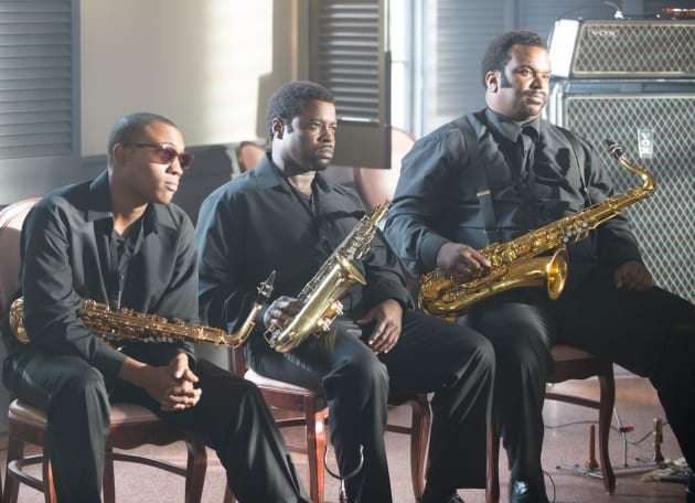 Craig Robinson in the Horn Section