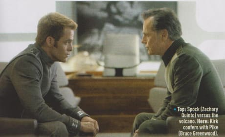 Chris Pine Bruce Greenwood Star Trek Into Darkness