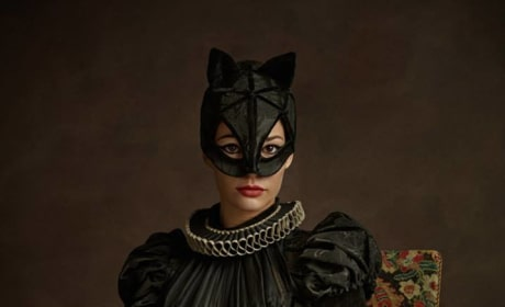 Catwoman As Renaissance Subject