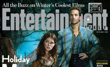 Anna Kendrick Into the Woods EW Cover