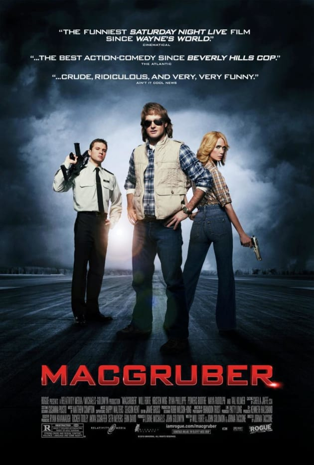 MacGruber Poster!