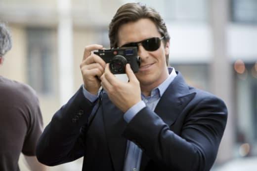 The Dark Knight Christian Bale Set Photo