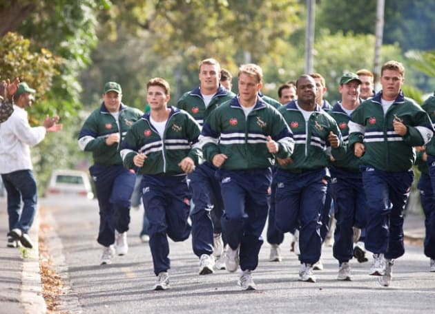 The Team Goes for a Run