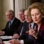 Meryl Streep is Margaret Thatcher in The Iron Lady