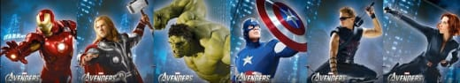 The Avengers Ad Banner
