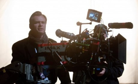 Christopher Nolan Directs The Dark Knight Rises