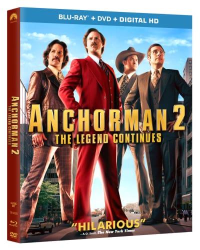 Anchorman 2 DVD/Blu-Ray