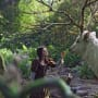 Snow White and the Huntsman Still: Snow White in the Forest