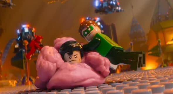 The LEGO Movie Green Lantern
