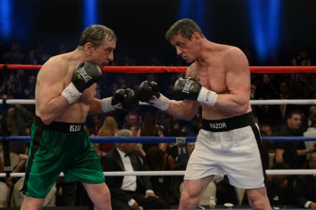 Robert De Niro Sylvester Stallone Star in Grudge Match
