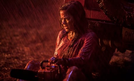 Evil Dead Drops New Stills: Bloody Rain