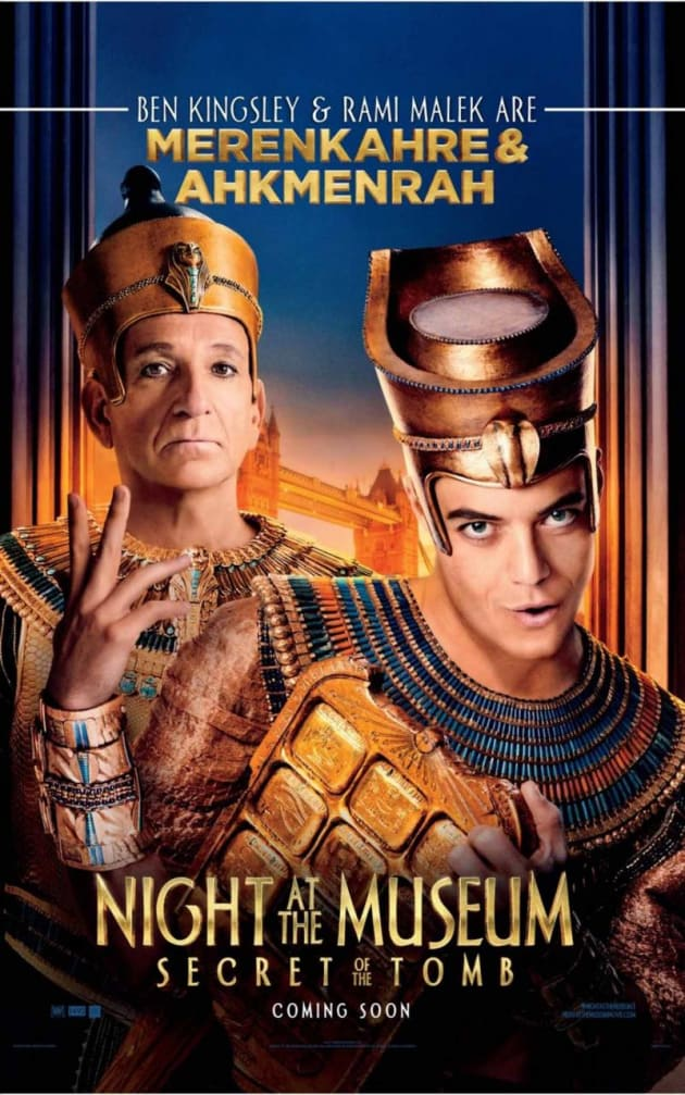 Night at the Museum: Secret of the Tomb Ben Kingsley Poster