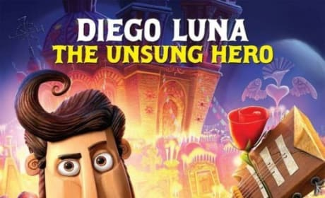 The Book of Life Diego Luna Character Poster