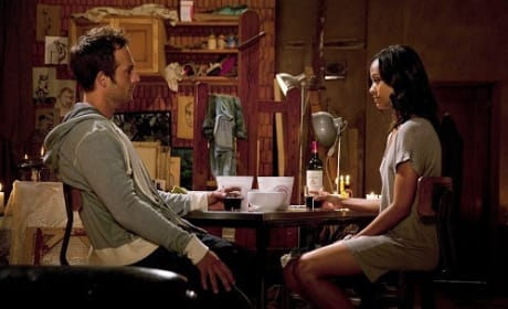 Michael Vartan and Zoe Saldana in Colombiana