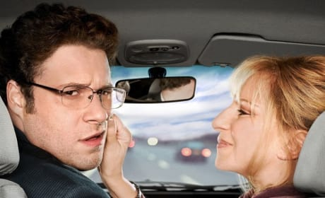 Barbra Streisand and Seth Rogen in The Guilt Trip