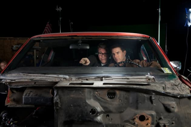 Christopher McQuarrie and Tom Cruise Jack Reacher