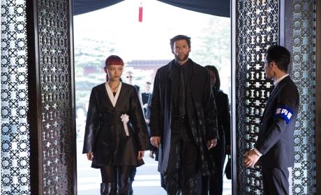 The Wolverine Rila Fukushima Hugh Jackman